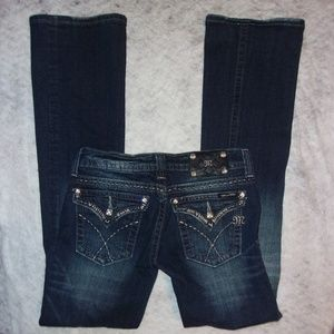 MISS ME JEANS SIZE 26 GREAT BUY BOOT CUT